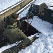 Очередные стрельбы прошли на полигоне Десантно-штурмового полка