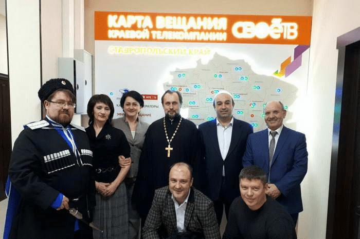 Атаман Воронцов принял участие в телепередаче