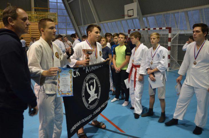 Казаки приняли участие в первенстве Ставропольского края по АРБ