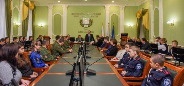В память о Донском атамане Каледине провели конференцию в Новочеркасске