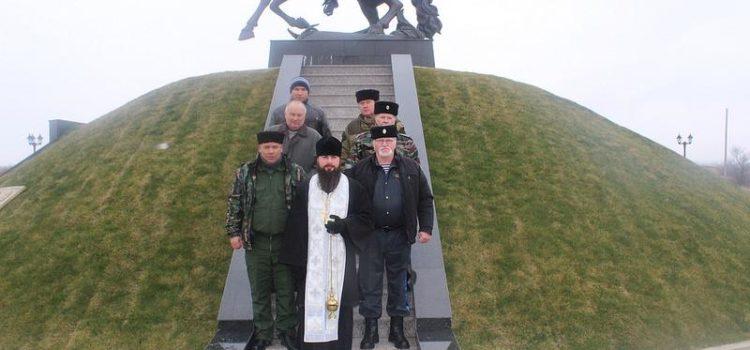 Казаки помолились об упокоении предков