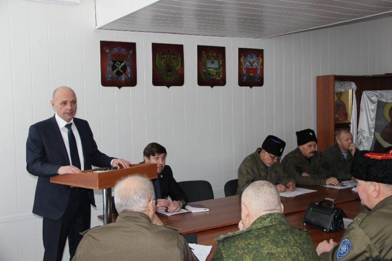 Совет атаманов Ставропольского округа обсудил важные вопросы