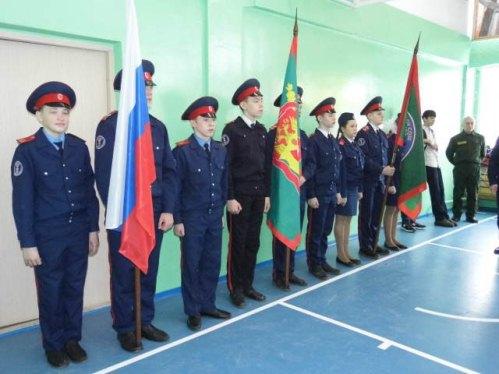 Казачья молодежь города Новосибирска пополнила свои ряды