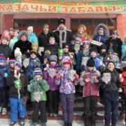 Казаки Кемеровского округа СВКО провели «Казачьи забавы»