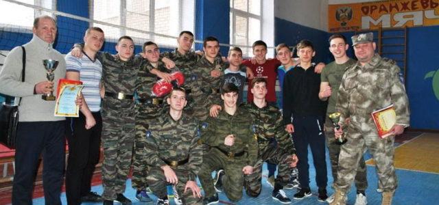 Астраханские казаки провели молодежную спартакиаду