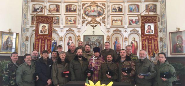 Совет атаманов Центрального районного казачьего общества прошел в с. Грачевка
