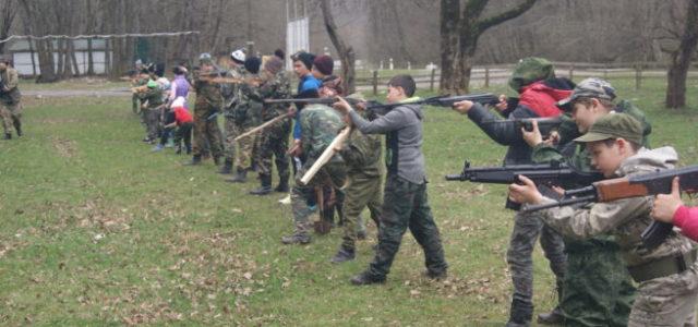 Военно-полевые сборы для казачат Кубани