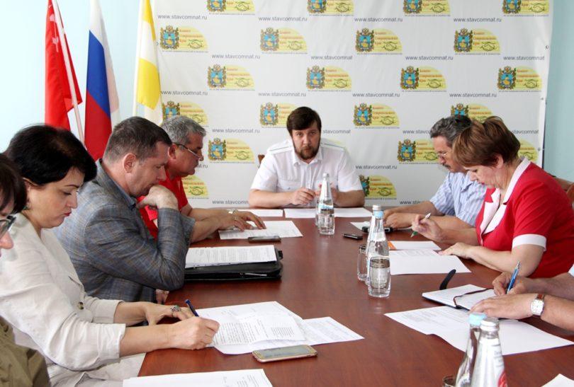 В Ставрополе обсудили развитие краевой системы казачьего кадетского образования