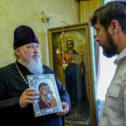 Атаман Сергей Пальчиков встретился с митрополитом Кириллом
