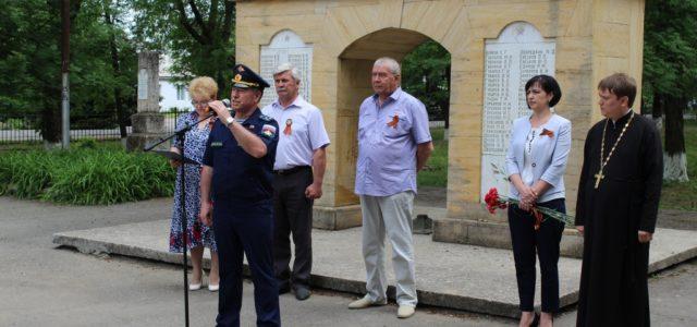 День святого Георгия в селе Труновском в преддверии Дня Победы