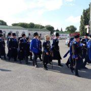 Ессентуксткие казаки встречали гостей кинофестиваля «Хрустальный источникъ»