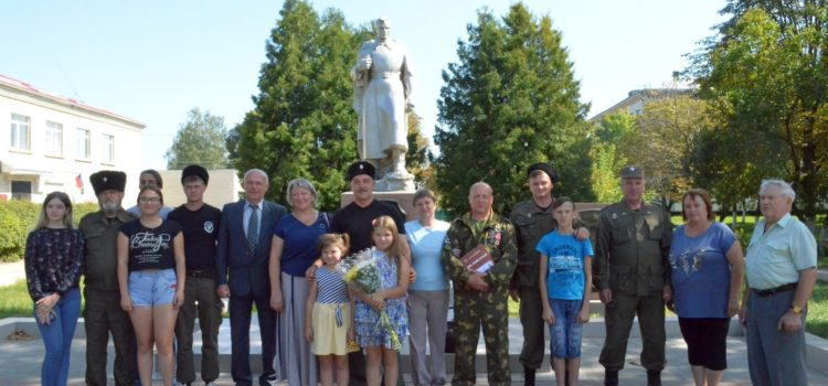 Завершился автопробег Ипатовских казаков по местам боевой славы корпуса генерала Доватора