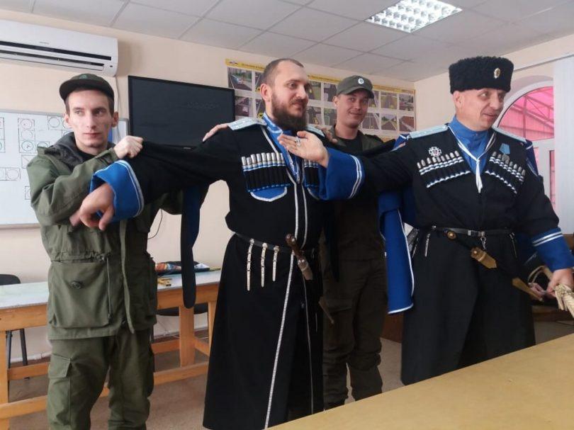 В Нефтекумском городском округе казачьим атаманом выбрали отца семерых детей