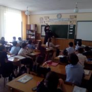 Занятия по истории Терского казачества прошли в городе Ардон