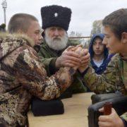 В  Степновском районе прошли XX районные молодежные казачьи игры