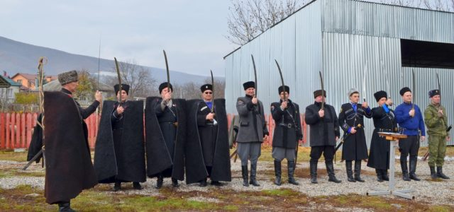 Турнир по рубке шашкой, посвященный подвигу корпуса генерала Доватора, прошел на Ставрополье