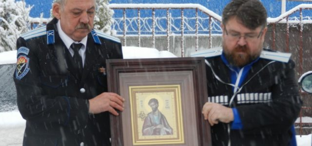 Икона с частицей мощей святого апостола Варфоломея прибыла в Михайловск