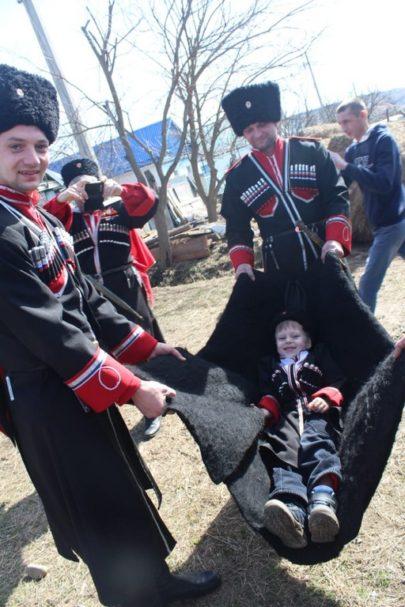 Старинный казачий обряд прошел в Невинномысске