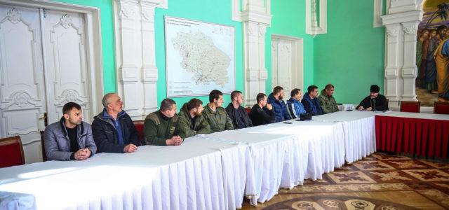 Секретарь Ставропольской епархии встретился с представителями казачества