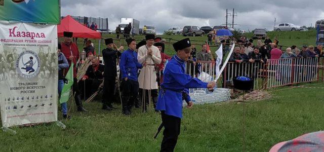 Георгиевская Казарла собрала на Ставрополье полсотни казаков со всей России