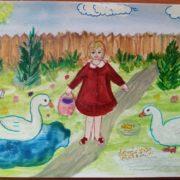 Онлайн-конкурс художественного творчества для детей запустили казаки Георгиевска
