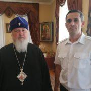 Атаман ТКВ Виталий Кузнецов встретился с архиереями Ставрополья