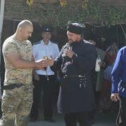 На «казачьей поляне» в селе Солдато-Александровском возродили старинный обряд куначества