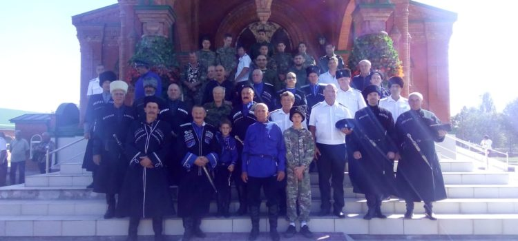 В станице Незлобной отметили 30-летие создания казачьей общины