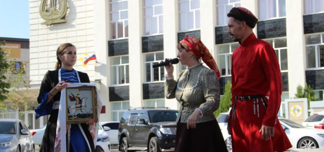 Казаки Ставрополя в игровом формате познакомили детей с историей основания города