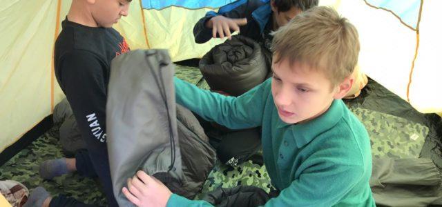 Казачата из Ставрополя готовятся к туристическому походу на гору Стрижамент