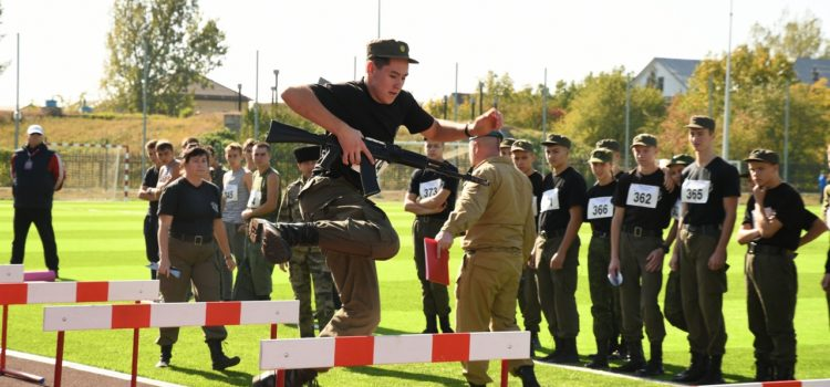 Спартакиада «Горжусь тобой, Отечество» прошла среди молодежных казачьих команд