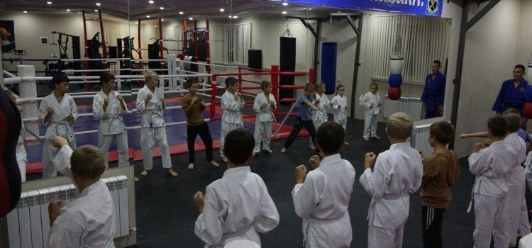 В станице Курской казаки возобновили детскую спортивную секцию