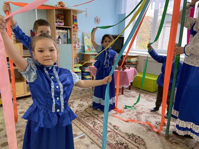 Казачья ярмарка познакомила детсадовцев Георгиевска с культурой терцев