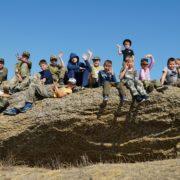 «Ратник» на Остром Кургане: в окрестностях села Надежды прошли казачьи полевые сборы для молодежи