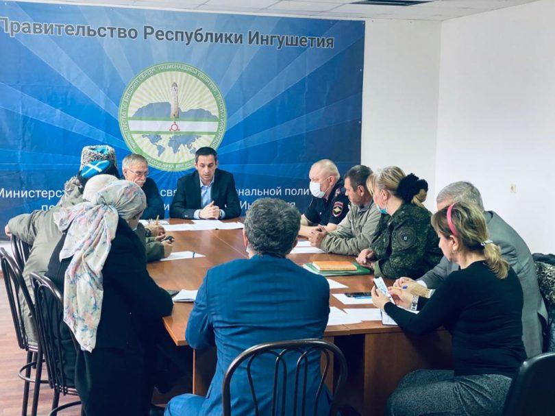 Состоялась рабочая встреча атаманов казачьих обществ Сунженского округа Терского войска