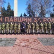 Казаки и казачата Михайловска почтили память освободителей города и района от фашистских захватчиков