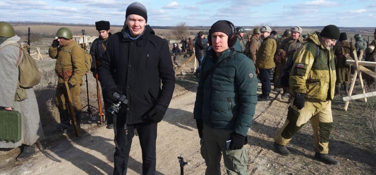 Ставропольские терцы приняли участие в реконструкции Ростовской оборонительной операции 1943 года