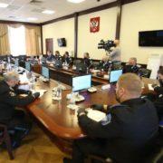 Юрий Чайка провел рабочую встречу с атаманами и председателями Советов стариков окружных казачьих обществ ТВКО