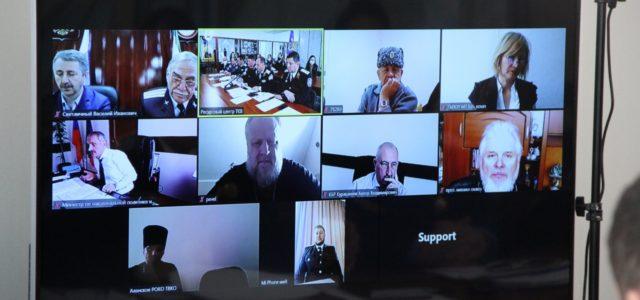 Рабочий визит на Ставрополье совершили представители руководства Всероссийского Казачьего Общества