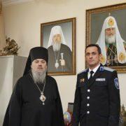 Под окормлением церкви: атаман ТВКО Виталий Кузнецов и епископ Гедеон наметили планы совместной работы