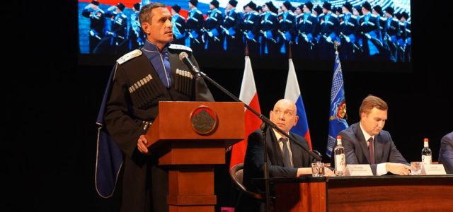 Президент России Владимир Путин назначил Виталия Кузнецова атаманом Терского казачьего общества