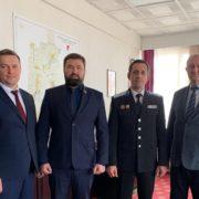 Атаман Терского войска Виталий Кузнецов побывал с рабочей встречей в г. Изобильном