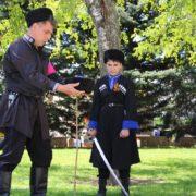 В Ставрополе на Крепостной горе прошли традиционные казачьи шермиции