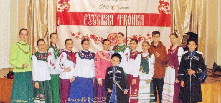 Ставропольские казачата взяли Гран-при международного фестиваля «Русская Тройка»