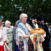 Праздник Святой Троицы отпраздновали в Горячеводской казачьей общине с большим размахом