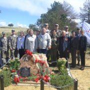 В хуторе Нагорном в память казаков-разведчиков установлена новая мемориальная доска