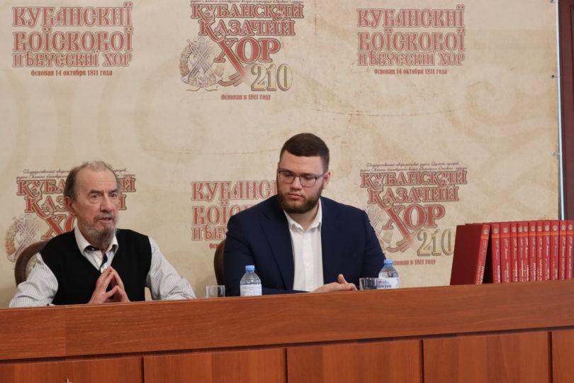 В гостях у Всероссийского казачьего общества побывал прославленный Виктор Захарченко