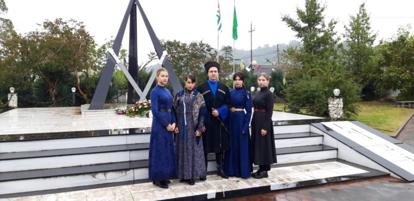 Делегация из Кисловодска приняла участие в праздничных мероприятиях в Республике Абхазия