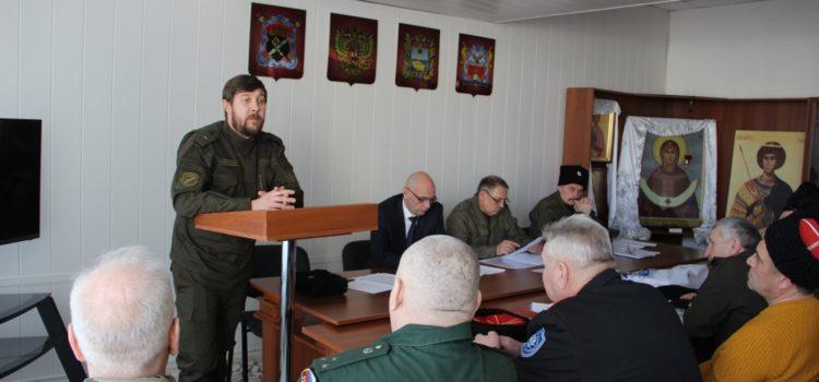 В конце апреля пройдет выборный Круг Ставропольского окружного казачьего общества