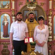 Выполнил обещание: атаман Ставропольского округа обвенчался с супругой